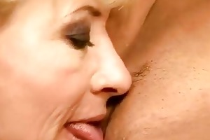 granny and hotty having pleasure