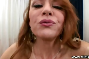 hawt mama sucks penis most good pov style