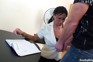 breasty older pandora receives slammed