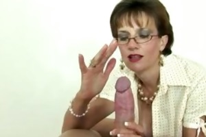 british mature mistresse is fond of gags