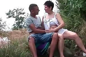 busty grandma fucking her youthful boyfriend