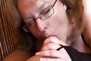 busty non-professional wife tugjob and fellatio