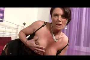 slutty milf flashing and toying bvr