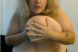 aged big beautiful woman with biggest mangos