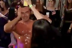 dripping vagina on the dance floor