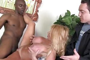 youthful foxy golden-haired d like to fuck gets
