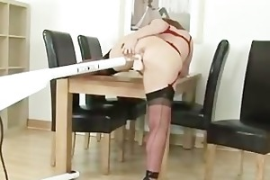 see aged bitch in nylons