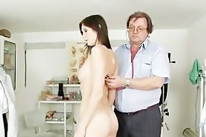 natural breasty playgirl kattie gold muff exam