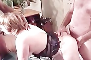 fantastic double penetration session