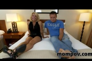 big titties milf brings her fiance to porn
