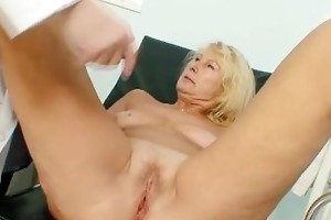 lascivious older mommy acquires an big o from
