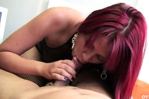 hawt a-hole redhead latin chick acquires screwed