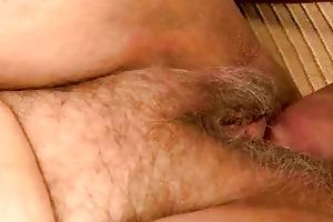 chunky grandma receives fucked by juvenile dude