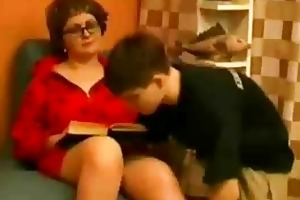 mother tempt juvenile son
