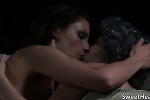 fantastic women receive aroused for three-some