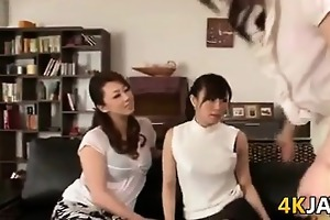 japanese mother i lesbian foursome