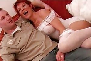 hawt older brit redhead lynne warner banging