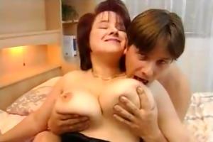 breasty european housewife drilled hard