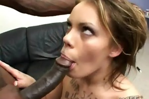 a cheating wife copulates a darksome dude while