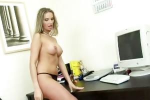 office masturbation session