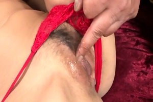 breasty sumire matsu acquires a creampie after