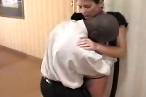interracial spouse cuckold watches his wife