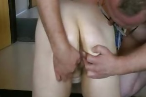 fat aged hottie acquires her booty screwed