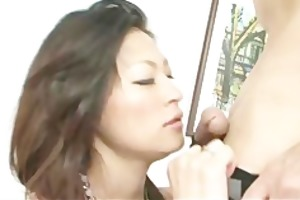 wild oriental gal ryo sasaki acquires pounded by