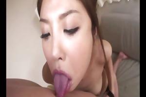 mafuyu hanasaki has an astounding tongue that is