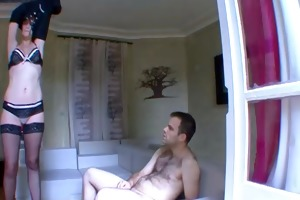 hot older fuck with a stranger !! french