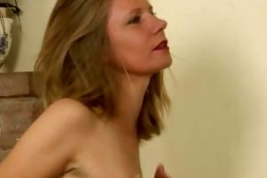 lexa mayfair masturbates with her nylons