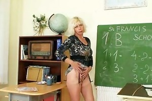 d like to fuck teacher can to masturbate after