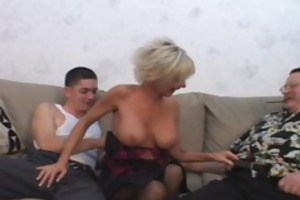 mature pair recruits student paramour