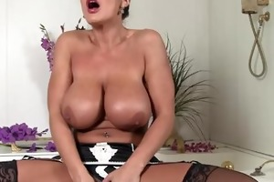 bubble bathroom boobies