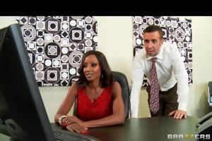hawt & sexually excited ebon executive