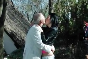 sexually excited grandpapa likes to have sex part2