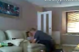 spy footage my mum with paramour in living room