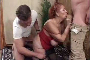 lustful plump granny does guys