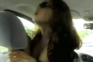 insane wife fucking the driver