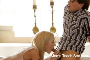 moms educate sex - he is lastly receives to fuck
