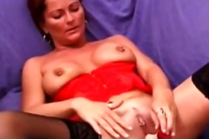 excited milfs hardcore sex session