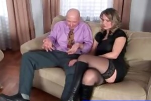 unhappy wife calls escort guy for a treesome with