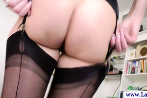 older nylons with taut wazoo screwed in sexy high