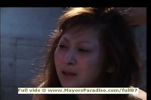 chihiro hara smart nasty oriental playgirl is