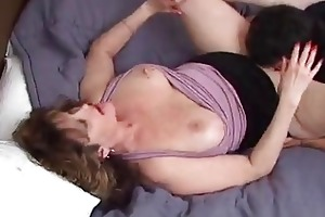 older woman getting drilled