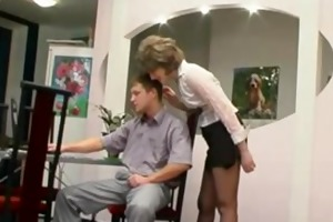 hose granny acquires oral stimulation older aged