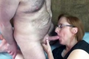 aged wench layla in hose and getting dicked