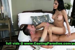 lela star brunette pornstar fucking and receives