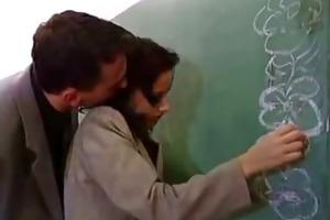 hawt teacher acquire screwed hard in classroom