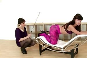 see lezdom mature brit spank playgirl